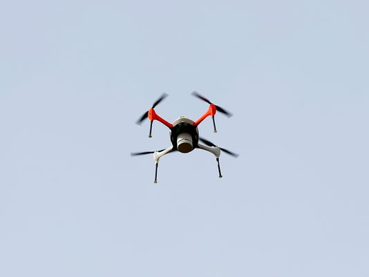 Shooting a drone that is hovering over my house or backyard property