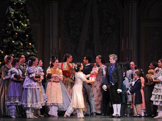 Clara receives a nutcracker as a Christmas present, and the magic begins!