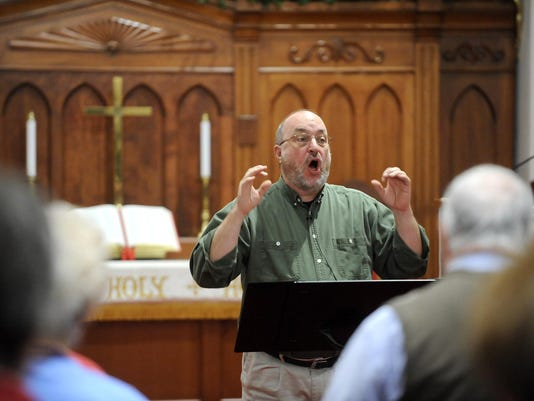 Church, faith, Chuck Beck, Vintage Voices, conductor, choir,