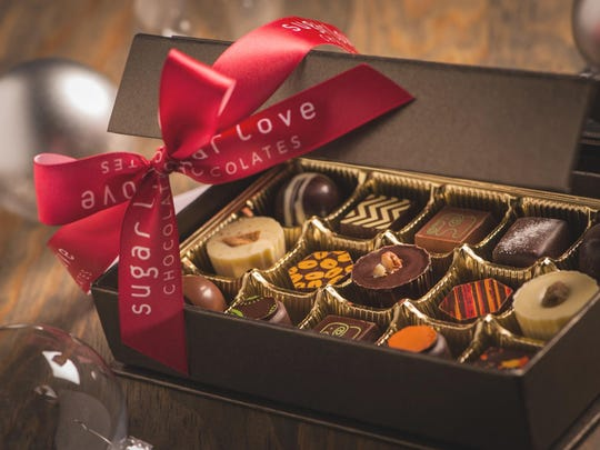 Sugar Love Chocolates gift box