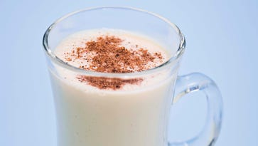 Eggnog has roots as a wintertime drink for British aristocracy.