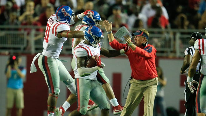 The Ole Miss Rebels are putting last Saturday's win against Alabama behind them and focusing on Vanderbilt.