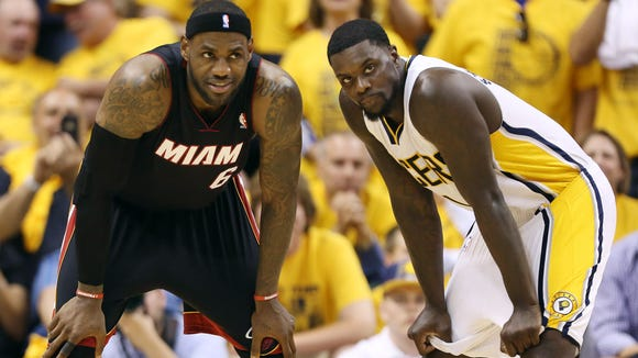 LeBron James, Lance Stephenson