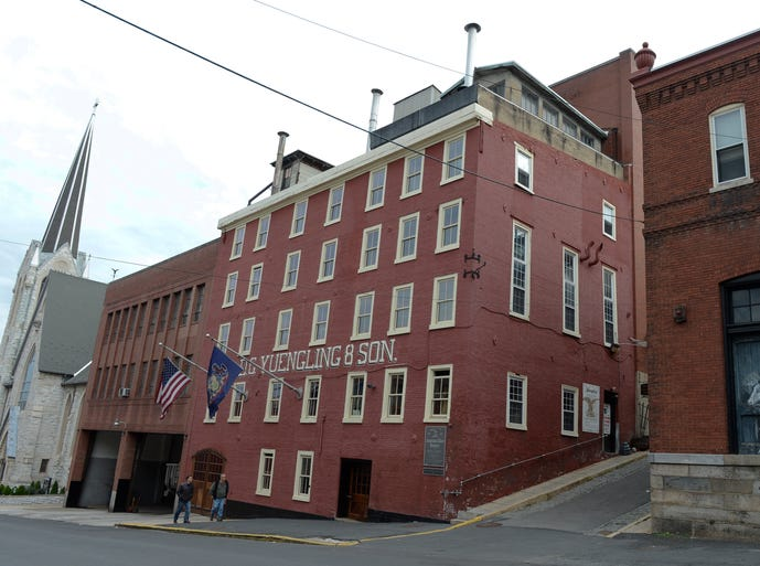 D.G. Yuengling and Son brewery in Pottsville, Pa.