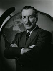 Walt Disney is shown in this 1961 portrait.