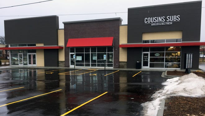A Cousins Subs shop on North Port Washington Road in Glendale is among 36 that have been remodeled.