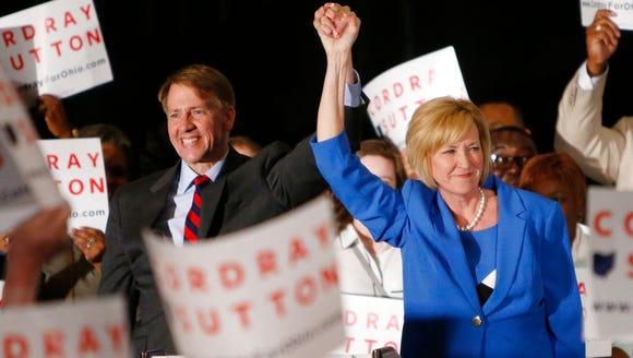 Democratic gubernatorial candidate Richard Cordray,
