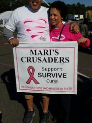 Maribel Duarte has been cancer-free for 14 years.