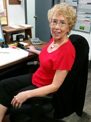 Autocraft office manager Jeri Jurewicz.