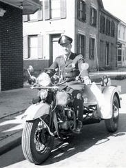 Officer Jim Rodgers of Chambersburg Police Department