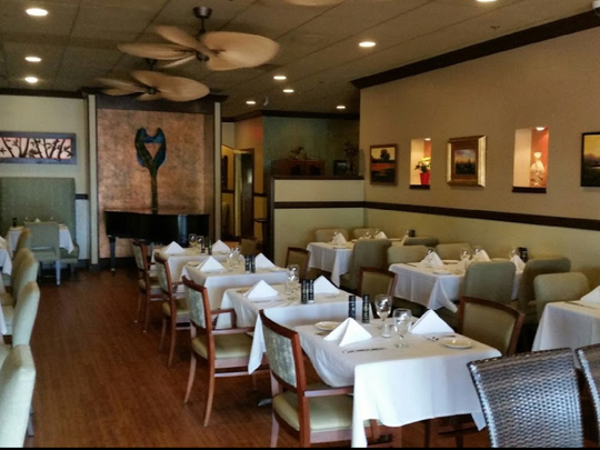 Dining area of Harp's Restaurant at 2621 SE Ocean Blvd. in Stuart.