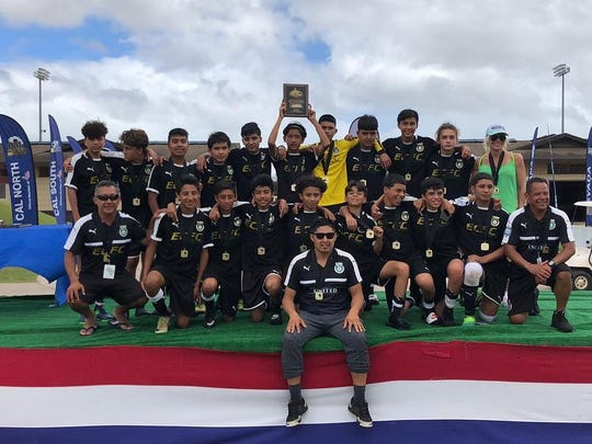 The El Camino Football Club (ECFC) United under-14 team won all six of its games this past week in Honolulu, Hawaii to qualify for the U.S. Youth Soccer Championships in Frisco, Texas.