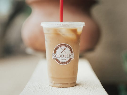 Scooter's Coffee offers a variety of iced espresso drinks.