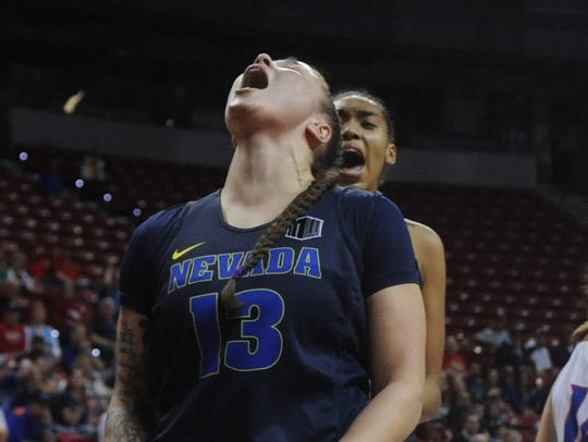 Nevada lost to Boise State in the Mountain West Women's