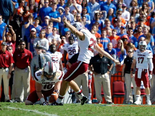 NCAA Football: South Carolina at Florida