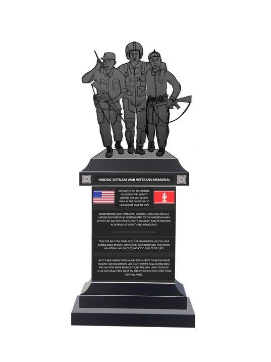 Veteran Monument_STATUE 6-5-15 2