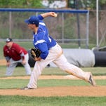 Corning left-hander Danny Madden delivers a pitch last season.