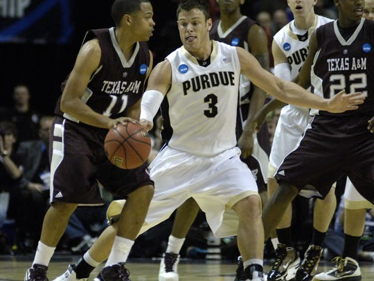 Purdue senior Chris Kramer (3) was a two-time Big Ten