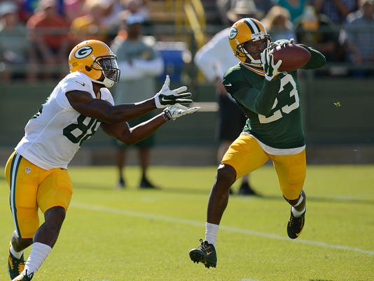 GPG Packers training camp 080615