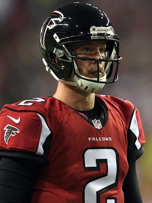 Matt Ryan looks to guide the Falcons into the Super Bowl.