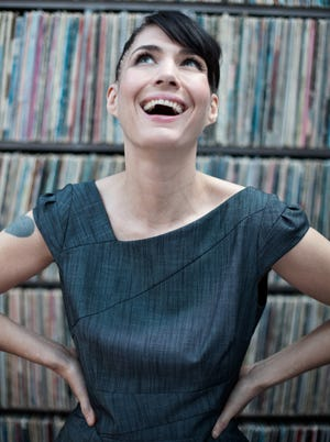 Musician and activist Kathleen Hanna is the subject of a new documentary, 'The Punk Singer.'
