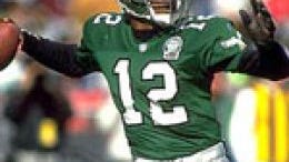The Eagles are considering switching back to the kelly green uniforms worn in Randall Cunningham's era.
