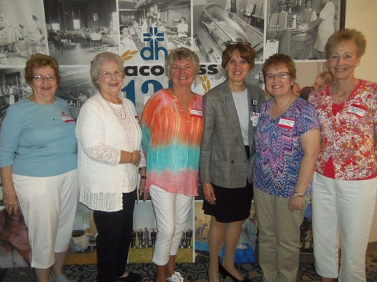 Nursing reunion Deaconess Hospital School of Nursing