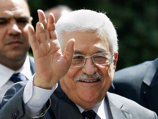 Mideast Israel Palestinians Glance (2)