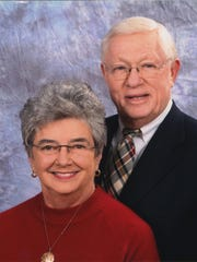 Ann and Clyde Woods will serve as masters of the bell today at FHU.