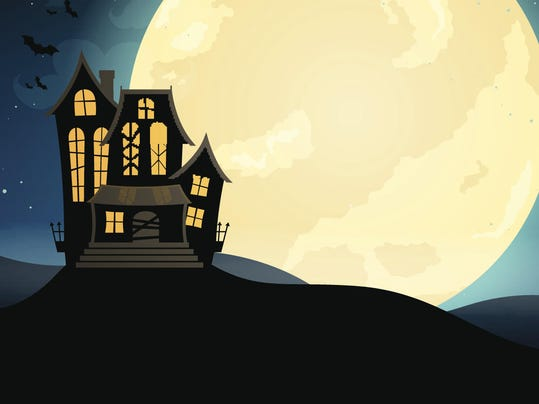 Vector Scary Halloween Design