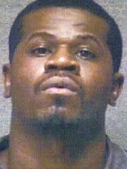 Djuane L. McPhaul on the night of his arrest in December