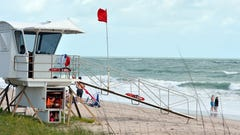 Hurricane Chris downgraded to Tropical Storm; hot day ahead with dangerous rip currents