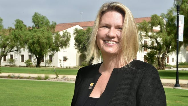 Erika Beck, president of CSU Channel Islands in Camarillo.