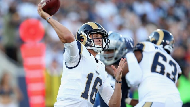After a rough first year, Rams QB Jared Goff is hoping to thrive under new head coach Sean McVay.