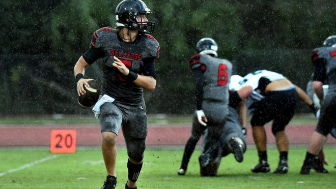 South Fork quarterback Stone Labanowitz needs 98 more yards to become the area's all-time passing leader.