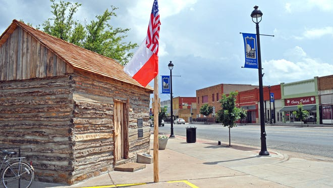 Along the main street through Winters is several local businesses and the recently added Blue Gap Post Office.
