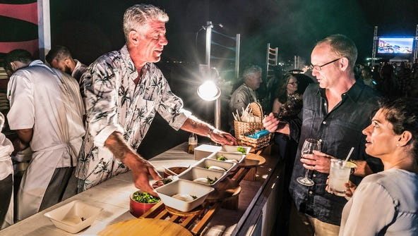Anthony Bourdain turns to street food for inspiration