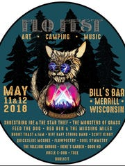 FLO Fest will be on May 11 and 12, at Bill's Bar in Merrill.