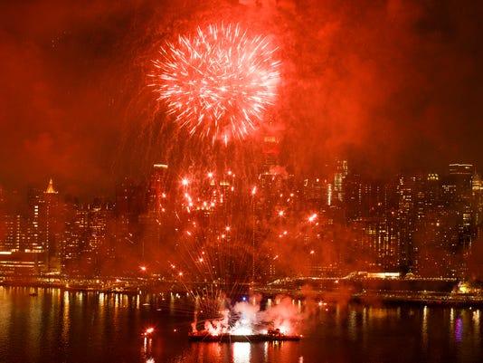 AP APTOPIX JULY FOURTH NEW YORK A USA NY