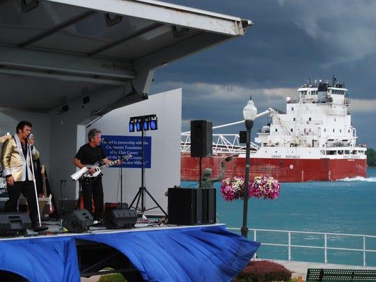 Darrin Hagel and the Burnin' Love Band perform Friday