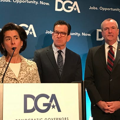 Governor Phil Murphy focusing on guns, Gateway tunnel at Washington governors conference