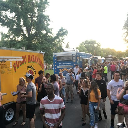 Food Truck Friday begins May 18 in Idlewild Park
