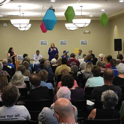 Voters in learning mode as Democrats running for governor face off in De Pere