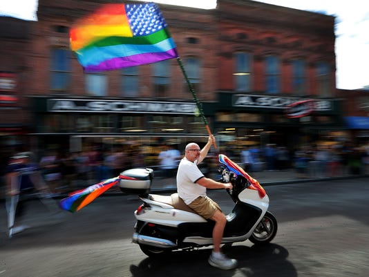 pride parade jump art