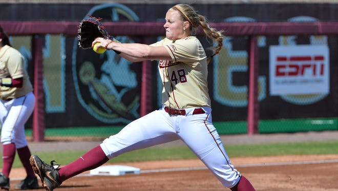 Meghan King sports a 1.96 ERA and is 11-1 this season for FSU.
