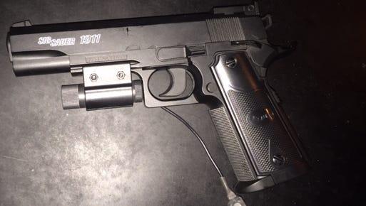 Sig Sauer replica handgun