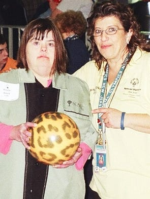 Area 3 Special Olympics Bowling Meet coordinator Marisa