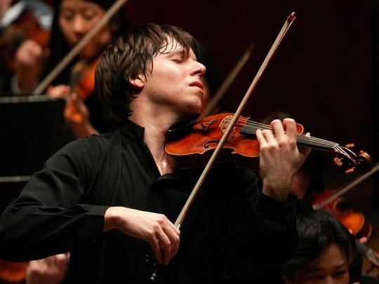 Joshua Bell: 7:30 p.m. May 7; 8 p.m. May 9.