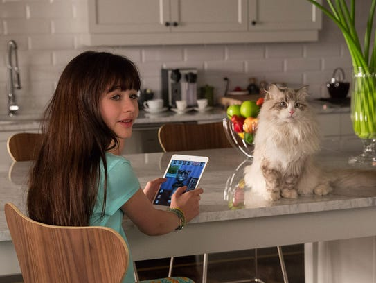 "Malina Weissman stars in ""Nine Lives."" The movie is"