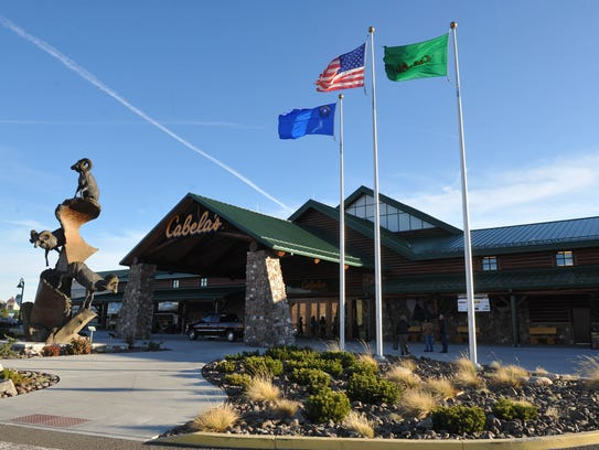 Cabela's, just west of Reno is shown in 2011.